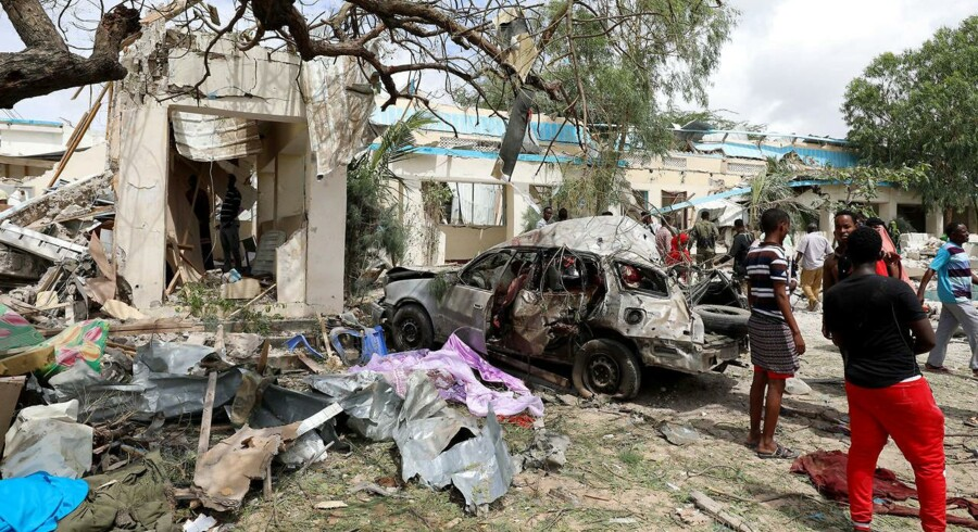 Arkivfoto: Mogadishu, Somalia.
