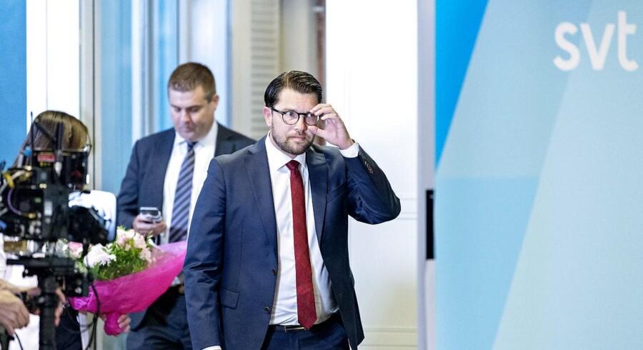 »SVT's udskiftning af valgchef - Eva Landahl, der også er ansvarlig udgiver for SVT - opfatter vi som en undskyldning,«