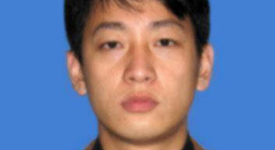 Jin Hyok Park fra Nordkorea er af USA udpeget som hovedmanden bag nogle af de største hackerangreb nogensinde. Angrebene omfatter WannaCry 2.0-virusset, som ramte over 200.000 computere i 150 lande, samt hackerangrebet mod Sony Pictures i 2014. Handout/Ritzau Scanpix