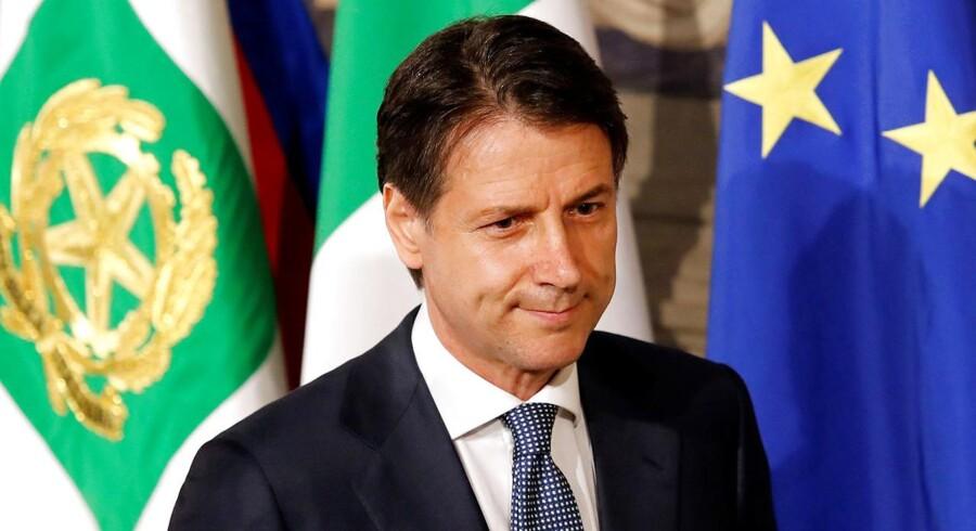 Den nye italienske ministerpræsident, Giuseppe Conte, står over for en svær opgave, når han skal få de italienske statsbudget for 2019 til at hænge sammen og samtidig leve op til nogle af valgløfterne.