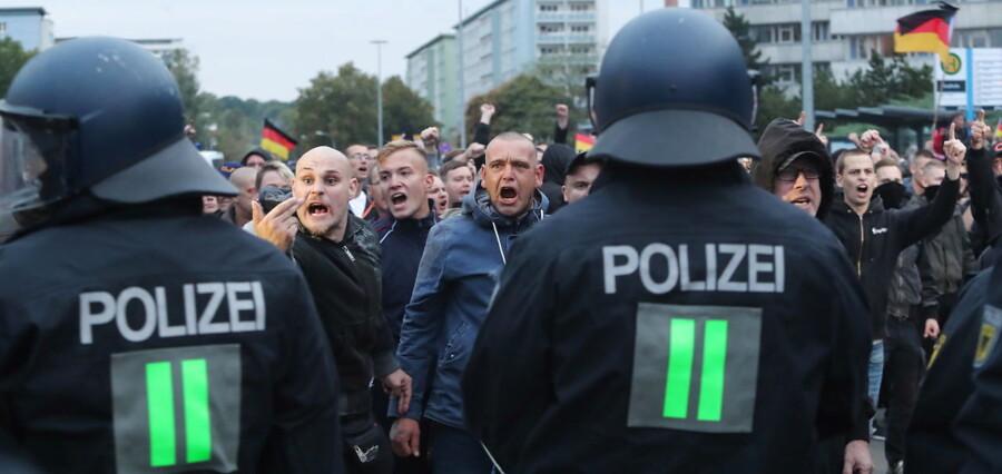 Efter urolighederne i Chemnitz beskrev den tyske avis Bild byen som et sted, der i otte timer var i undtagelsestilstand.