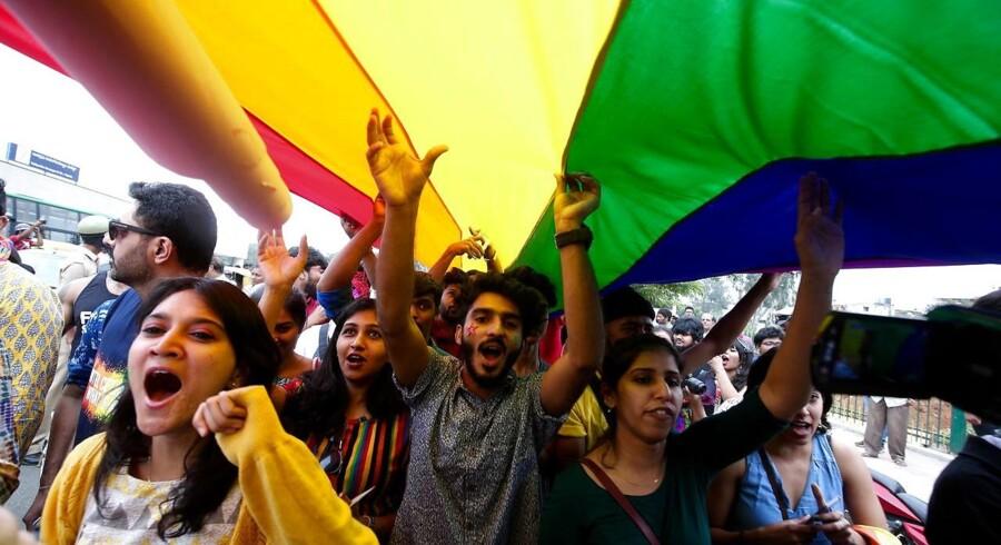LGBT-aktivister byder afgørelsen velkommen.