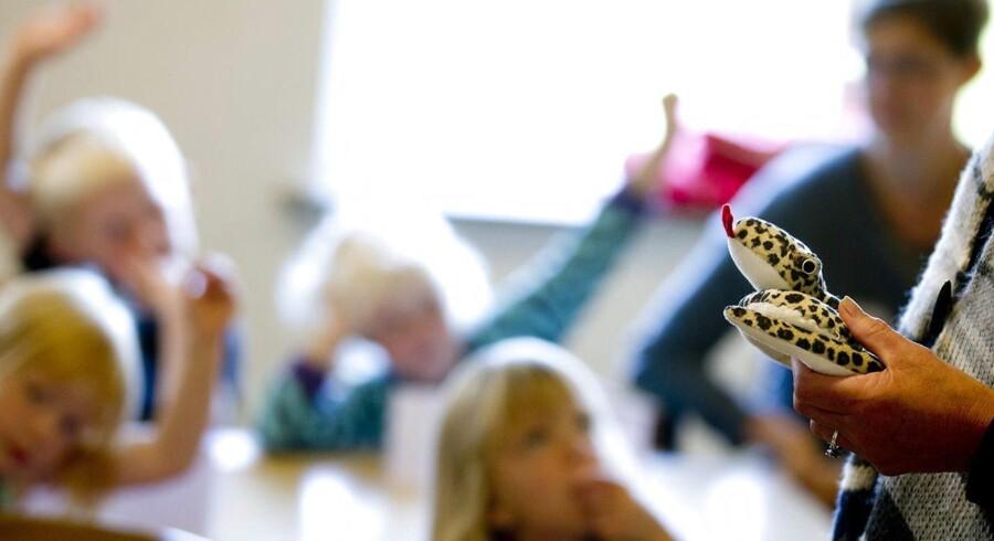 Arbejdsmarkedet trumfer ifølge Eva Selsing børnene. Hun undrer sig over, at det er konservativ politik at udvide åbningstiderne i institutionerne. (Arkivfoto: Johan Gadegaard/Ritzau Scanpix)