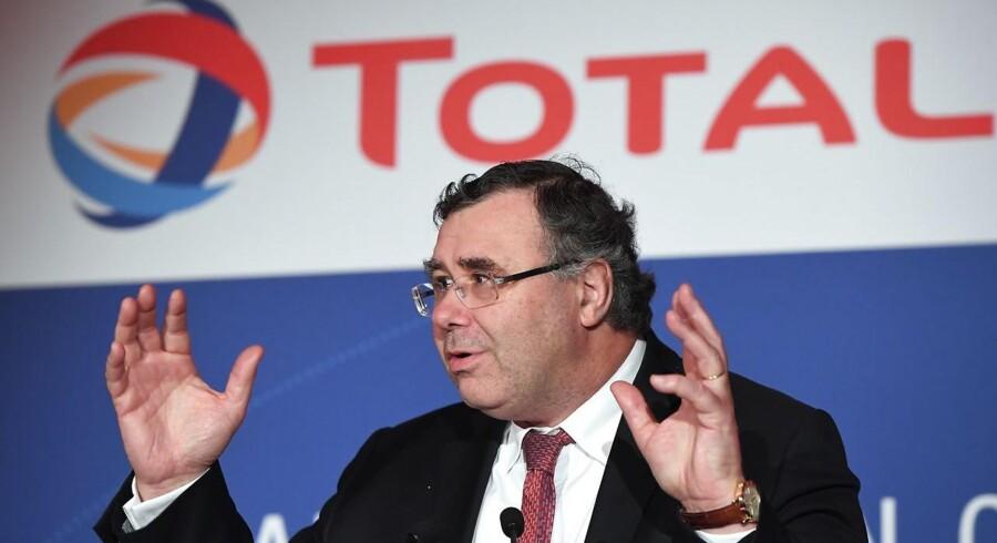Med købet af Maersk Oil trådte franske Total med topchef Patrick Pouyanné i spidsen ind på den danske oliescene. Står det til den franske topchef, kan den entré snart blive udvidet.