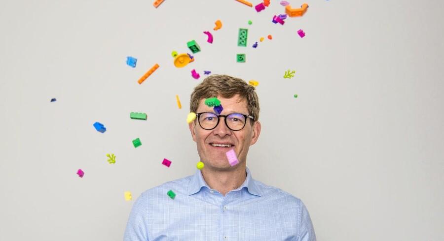 »Den langsigtede ambition er selvfølgelig at komme højere op end en procent vækst, men det begynder med at få skabt den rigtige base. Det handler om at få frigjort kreativiteten, der allerede er i Lego,« siger Legos direktør Niels Bjørn Christiansen.