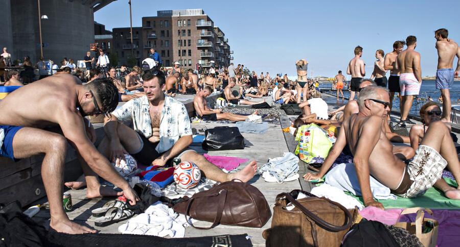De danske mænd er de flotteste sæddonorer i Europa. Her et repræsentabelt udvalg fra Islands Brygge i København.
