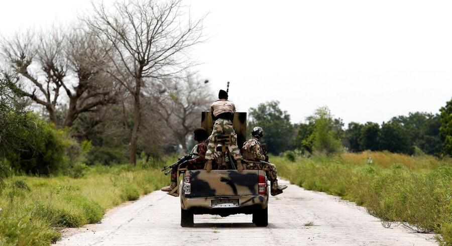 Arkivfoto. Boko Haram har på det seneste rettet flere alvorlige angreb mod Nigerias militær. Et angreb har kostet 48 liv.