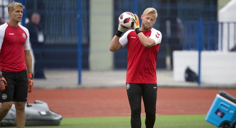 Kasper Schmeichel er blandt årets tre bedste målmænd