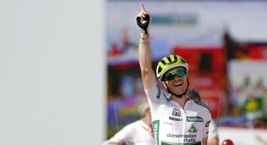 Benjamin King blev vinder af dagens etape i Vueltaen.