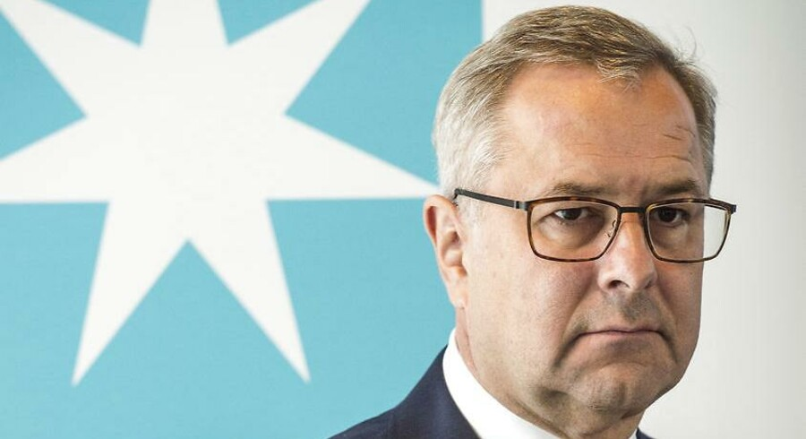 Maersk Supply Service skal sælges ud af A.P. Møller - Mærsk, men det bliver langt fra et let salg for selskabets topchef Søren Skou (på billedet).