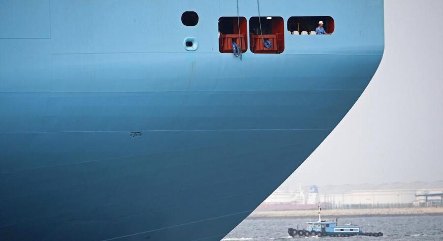 Der er stadig for mange containerskibe i markedet, og det gør det nært umuligt at tjene penge. Arkivfoto: Phil Noble / Reuters / Ritzau Scanpix Foto: MIKE BLAKE