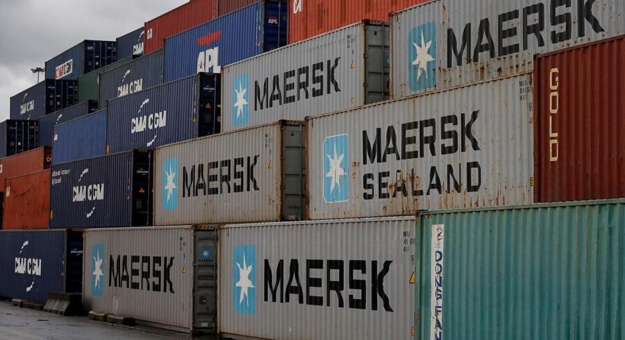 Mærsk kæmper med et hårdt marked for containerfragt, hvilket sidste uges nedjustering var et tydeligt vidnesbyrd om.