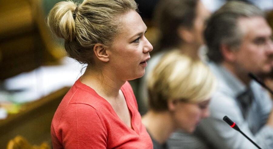 SFs Lisbeth Bech Poulsen taler om borgerløn, data og teknologi.
