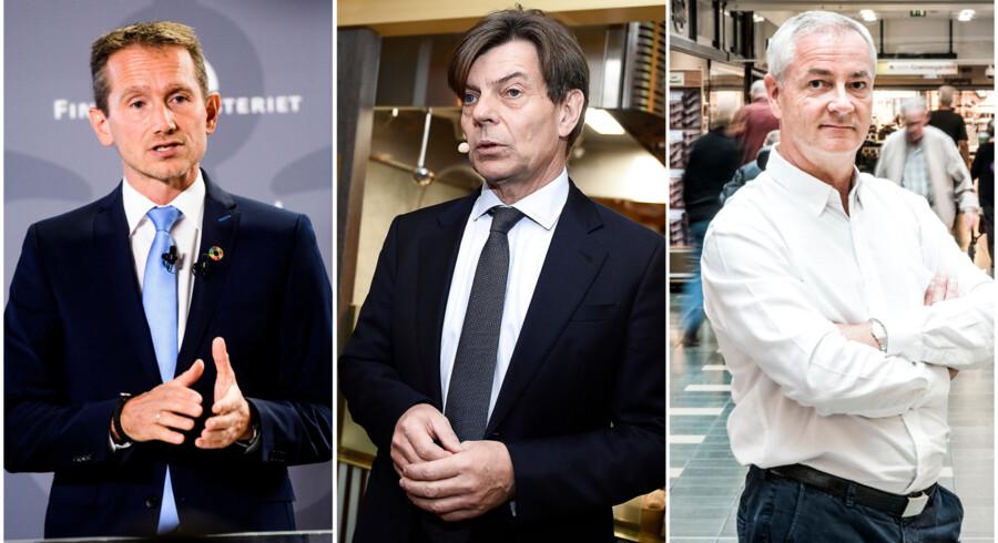 Kristian Jensen, Lars Liebst og Jesper Andreasen.