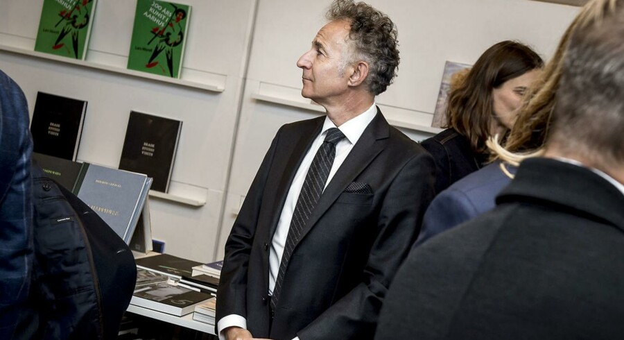 Arkivfoto. Den franske ambassadør i Danmark Francois Zimeray takker af.