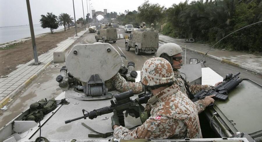 Danske soldater har gennem de seneste årtier været særdeles aktive i ikke mindst Afghanistan, Irak og på Balkan. Arkivfoto: Henning Bagger/Scanpix