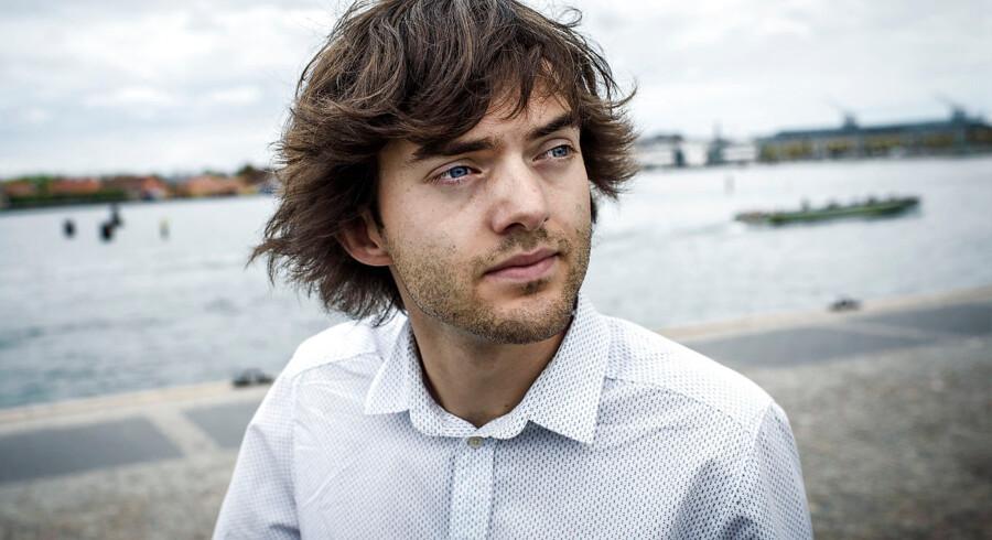 Boyan Slat, 24 år, grundlægger og administrerende direktør af NGO'en The Ocean Cleanup, som vil rense verdenshavene for plastic.