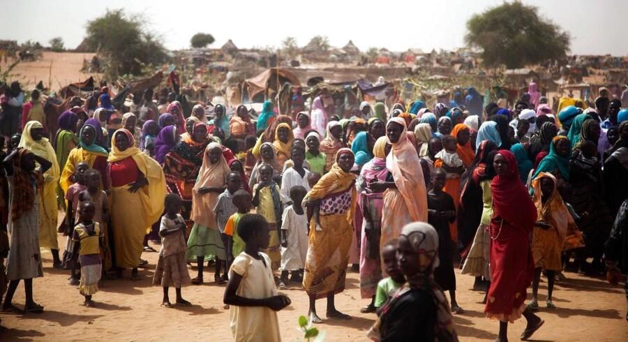 Arkivfoto fra Sydsudan.