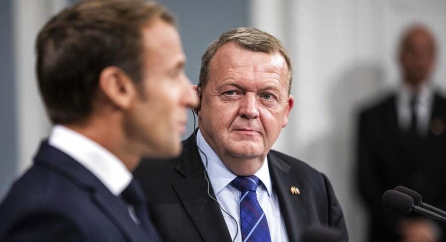 »Jeg vil gerne af med forsvarsforbeholdet. Vi så på det seneste topmøde, hvordan de transatlantiske forbehold er ved at ændre sig.«