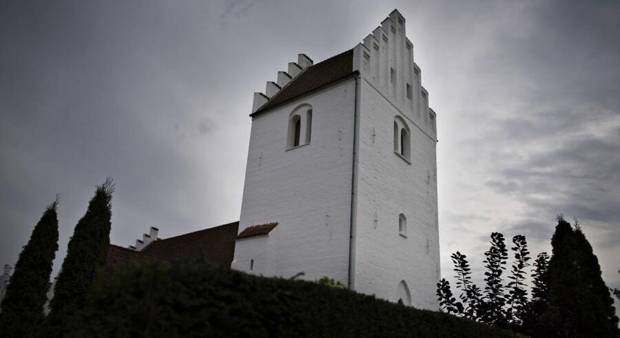 (ARKIV) Kirken i Tømmerup ved Kalundborg.