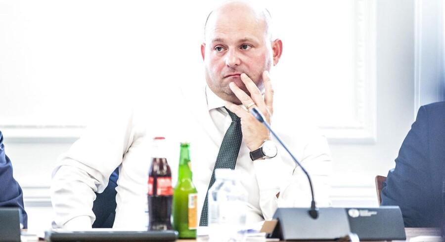 Justitsminister Søren Pape (K).