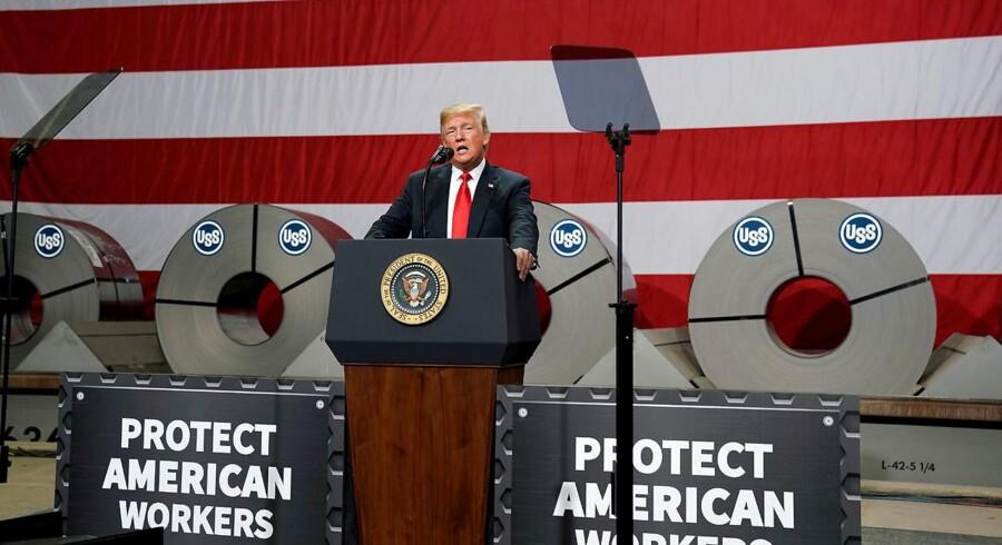 USA og Mexico er nået til enighed i om en aftale, der erstatter Nafta-aftalen, siger præsident Donald Trump.