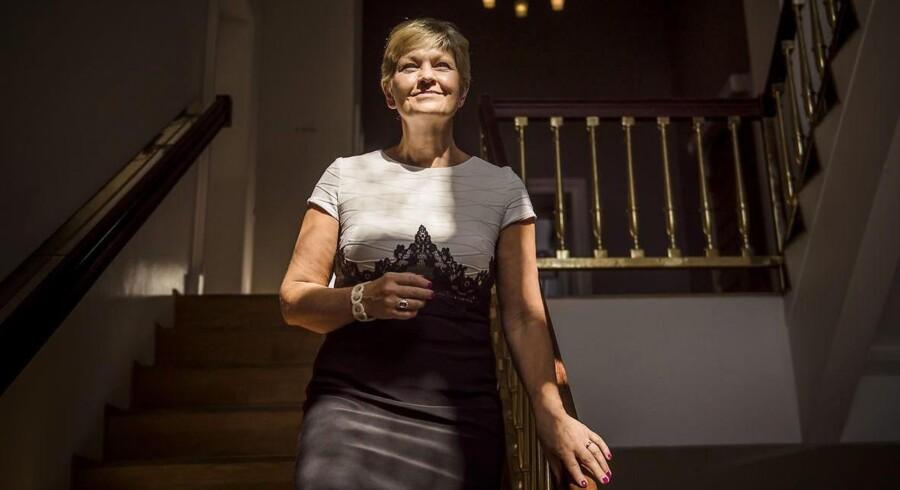 Eva Kjer Hansen, minister for ligestilling (V), er skuffet over, at kun 30 procent af topledere i det offentlige er kvinder.