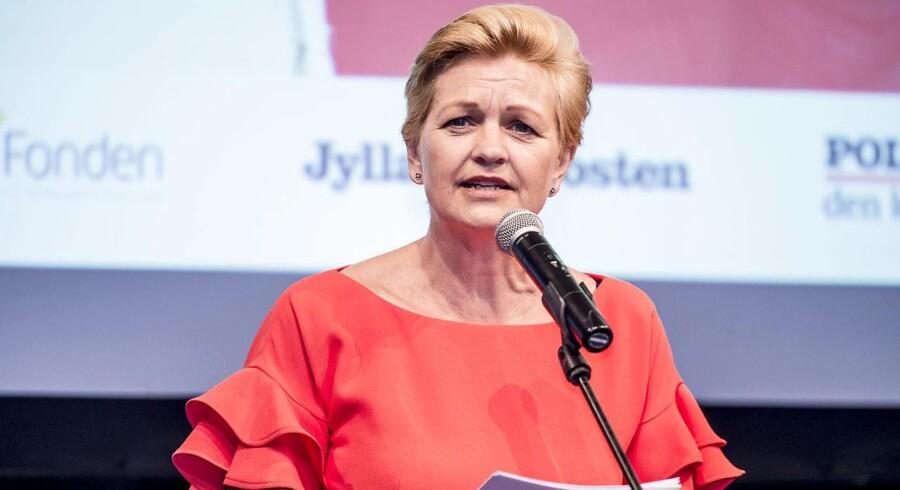 Ligestillingminister Eva Kjer Hansen.