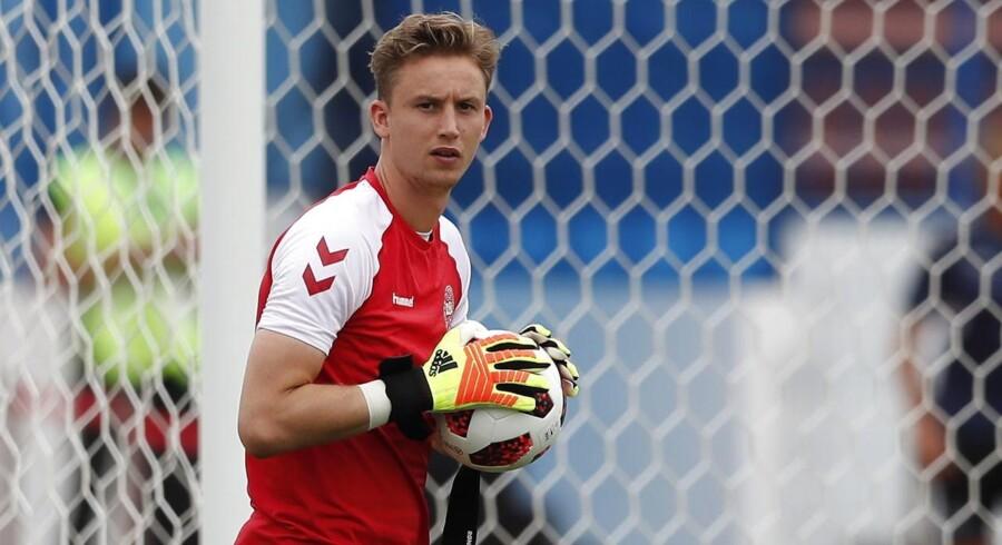 Frederik Rønnow, som denne sommer er kommet til Frankfurt fra Brøndby, fik tidligere i august en meget ublid debut for sin nye tyske klub.