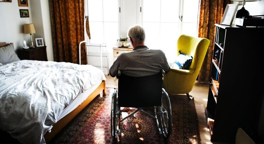 Ensomhed er et stort problem blandt de ældre, specielt mænd der er blevet alene efter ægtefællens død.