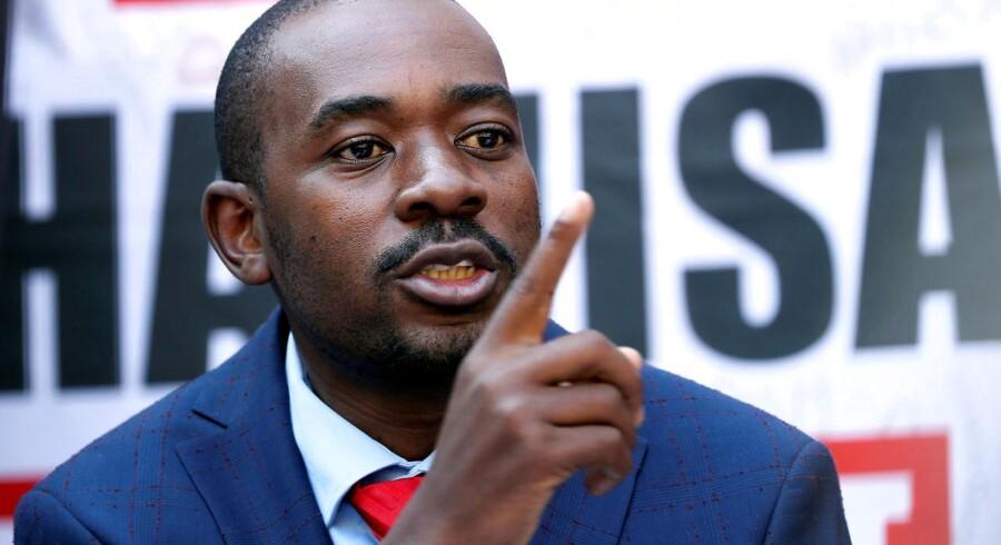 Zimbabwes forfatningsdomstol afviste fredag en klage fra oppositionslederen Nelson Chamisa og oppositionspartiet MDC.