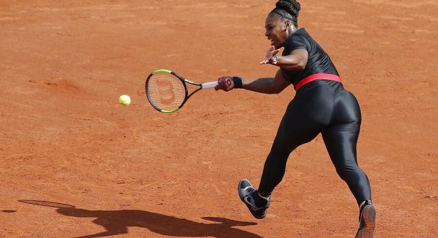 Den amerikanske tennisstjerne Serena Williams fik stor opmærksomhed, da hun tidligere på sommeren optrådte i en tætsiddende catsuit i French Open.