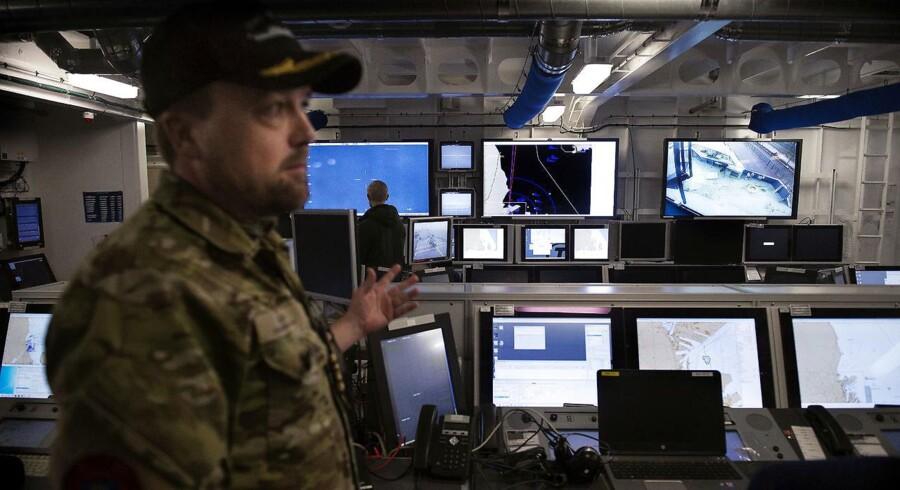 Arkivfoto. 22 danske it- og kommunikationsspecialister fra Forsvaret skal til Irak som del af ny Nato-træningsmission.