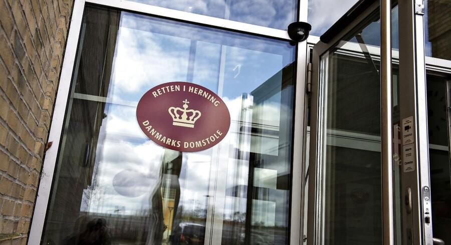 Retten i Herning , Danmarks Domstole, mandag 23. april 2018.. (Foto: Henning Bagger/Ritzau Scanpix)