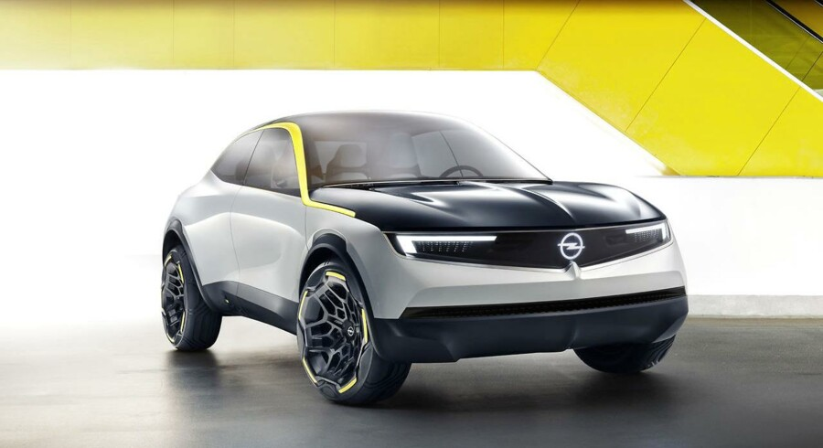 Med sit nye designsprog »Opel Vizor« viser Opel linjer, som vi kommer til at se på fremtidige biler