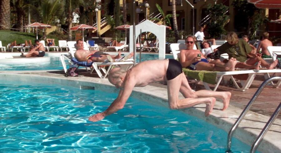 Der kan blive mere at holde ferie for som pensionist med det nye fradrag for pensionsopsparing. Arkivfoto: Bent Midstrup/Nordfoto