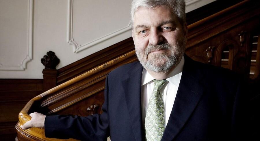 Helge Israelsen, da han var administrerende direktør i Post Danmark.