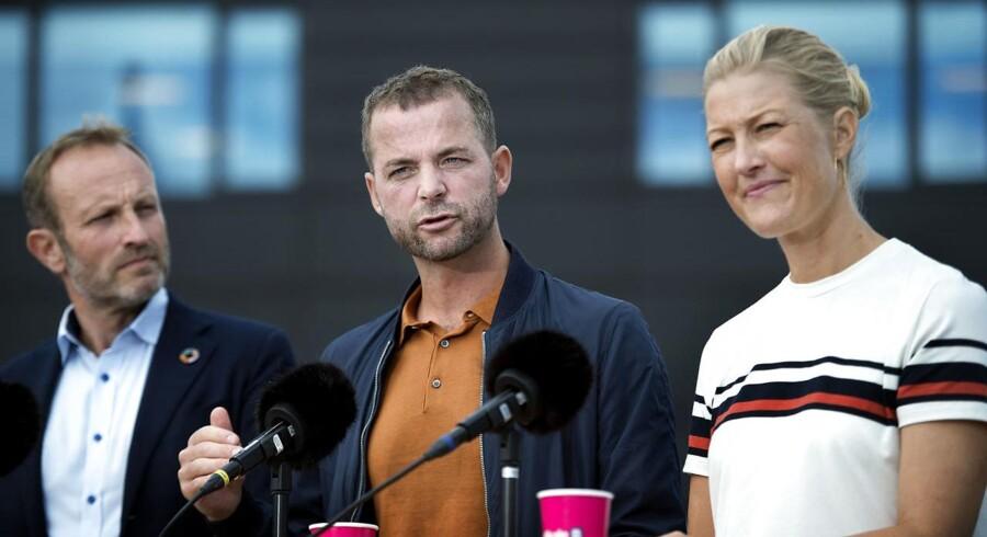 Morten Østergaard fastholder, at Radikale ikke bakker Mette Frederiksen op, hvis udlændingekursen ikke ændres.