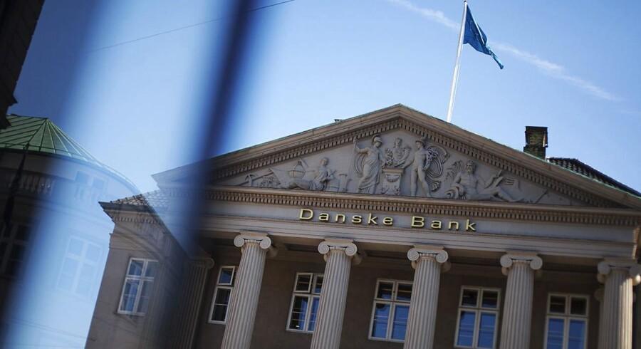 """Danske Bank stiger næstmest i C25-regi med 3,2 pct. til 190,70 kr. Fremgangen kommer efter en opjustering fra Morgan Stanley til """"overvægt"""" fra """"ligevægt""""."""