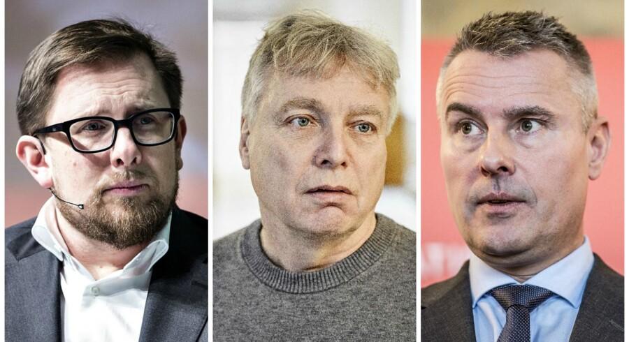 Simon Emil Ammitzbøll-Bille, Uffe Elbæk og Henrik Sass Larsen har fået meget opmærksom hed for, hvad der burde være helt ordinære og forventelige tiltag.