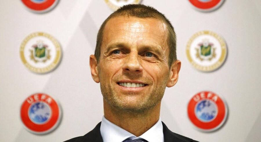 De nordiske fodboldlande ønsker endnu en periode med slovenske Aleksander Ceferin som præsident for Det Europæiske Fodboldforbund (Uefa).