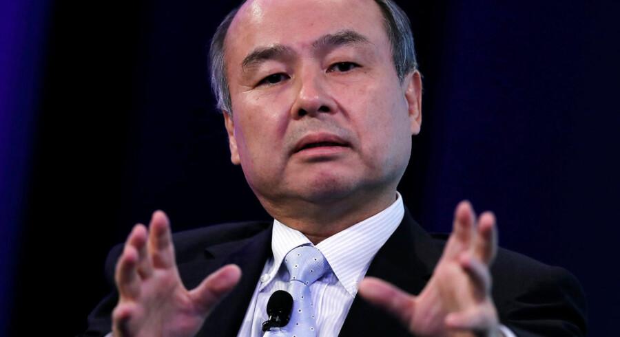 Grundlæggeren af japanske SoftBank, Masayoshi Son, taler her på en konference arrangeret af Wall Street Journal i maj 2018. Hans kæmpefond Vision Fund har gjort ham til en af de mest indflydelsesrige investorer i teknologisektoren. »Der er en guldfeber på vej i kunstig intelligens,« udtalte han sidste år om det område, han satser mest på.
