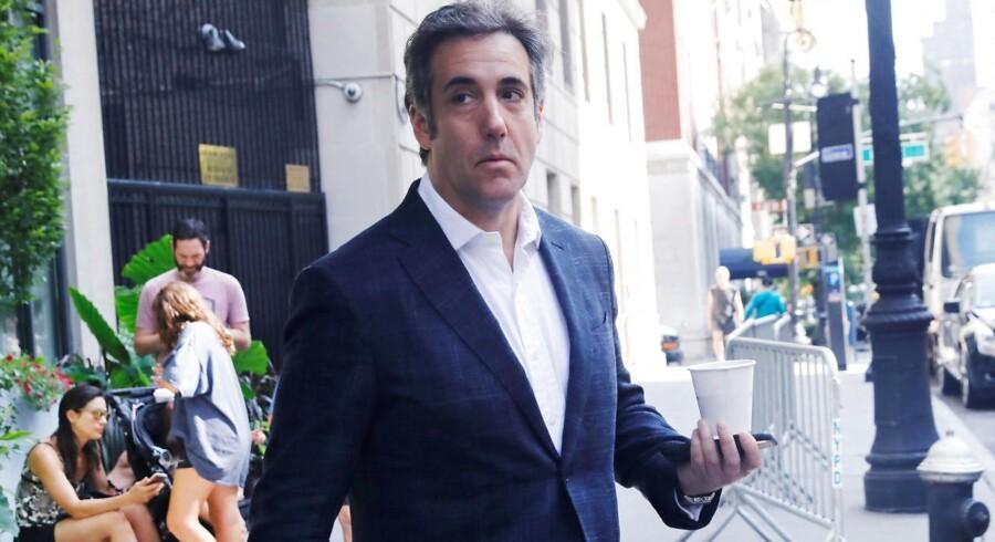 Præsident Donald Trumps tidligere rådgiver Michael D. Cohen synes interesseret i at indgå en aftale med de føderale myndigheder.