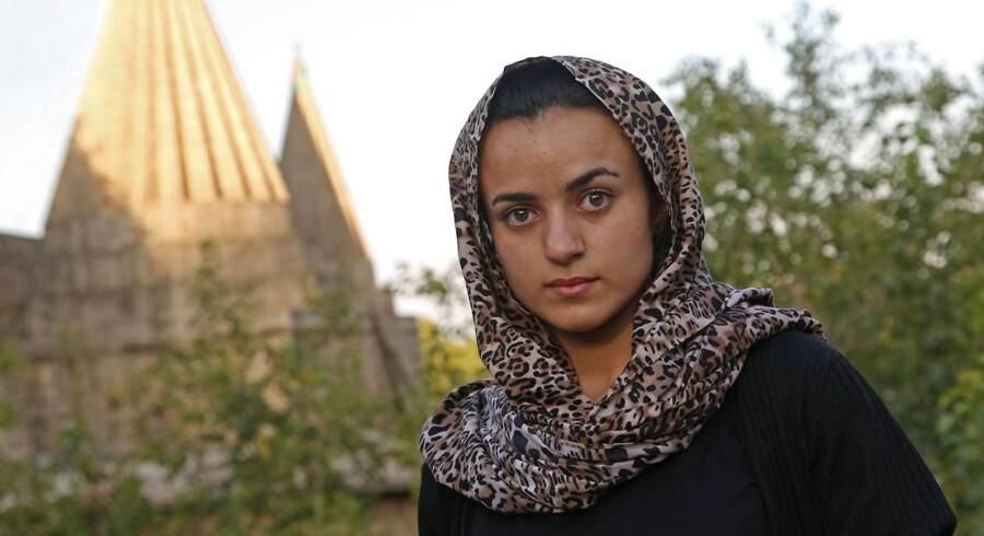 Den 19-årige Ashwaq Haji Hami skabte overskrifter i denne uge, efter at hun havde fortalt den irakisk-kurdiske nyhedsportal basnews, at hun vendte tilbage til sit hjemland Irak, fordi hun frygtede at støde på sin påståede torturbøddel igen.