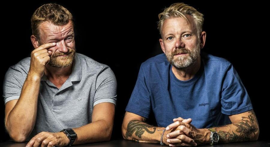 Frank Hvam og Casper Christensen.