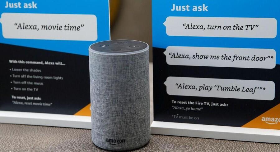 Amazons talegenkendelse Alexa er indbygget i bl.a. Amazons egne, populære, trådløse Echo-højttalere, mens Microsofts Cortana er en del af Windows - dog endnu ikke på dansk. Nu begynder de at kunne tale sammen. Fotos: Peter Hobson, Reuters/Scanpix