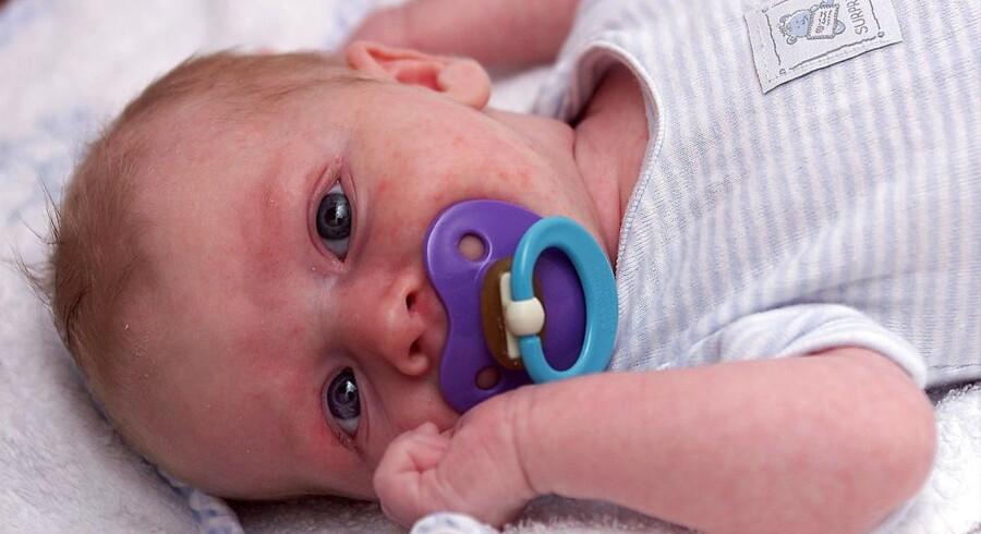 Et notat fra Sundhedsstyrelsen har sat gang i debatten om vegansk kost til spædbørn, hvilket Sundhedsstyrelsen ikke anbefaler. Arkivfoto.