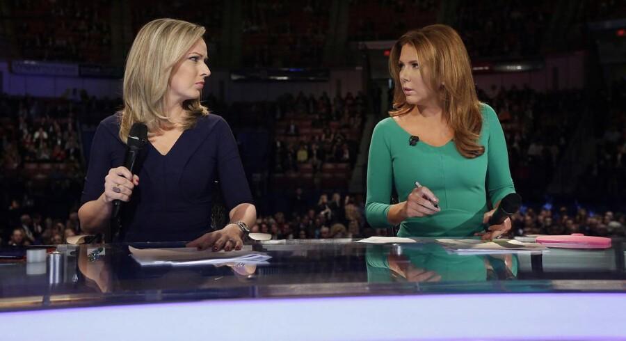 I denne uge handlede det om Fox News-værten Trish Regans (til højre) sammenligning mellem Danmark og Venezuela. »Fordi vi er et lille land, har vi brug for, at nogen bekræfter os i, at vi er gode nok,« siger lektor Sune Lægaard.