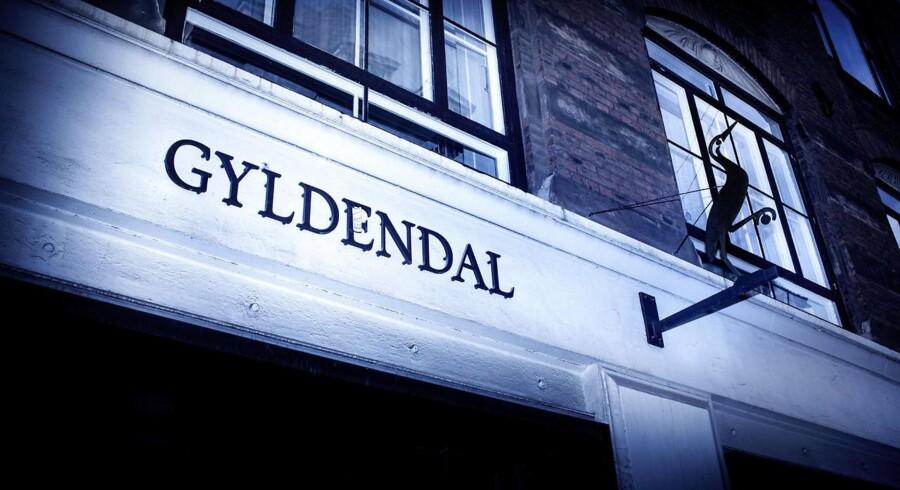Forlaget Gyldendal i Klareboderne i København har tabt mange penge i første halvår.