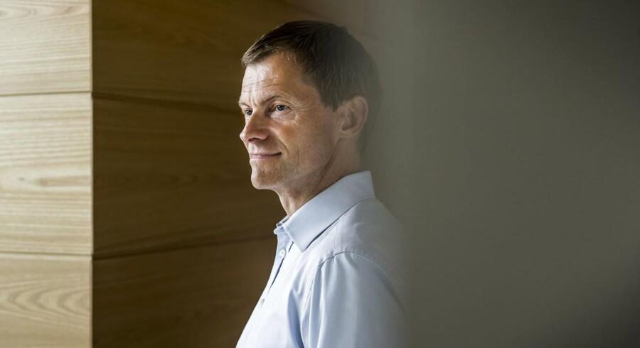 CEO for Danfoss Kim Fausing fotograferet i deres hovedkontor i Sønderjylland.